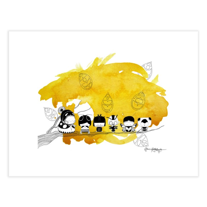 Pamilya II Home Fine Art Print by The Lola x Kenneth Collaboration
