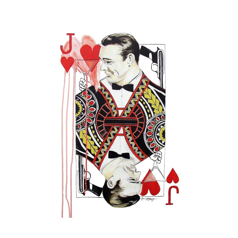 James Bond of Hearts by The Lola x Kenneth Collaboration