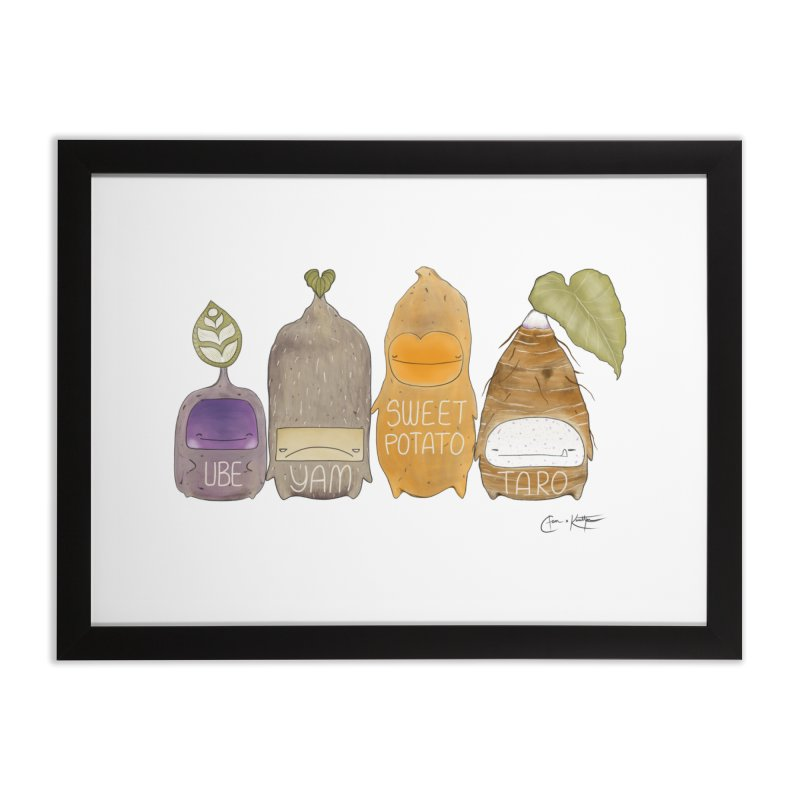 Know Your Roots Home Framed Fine Art Print by The Lola x Kenneth Collaboration