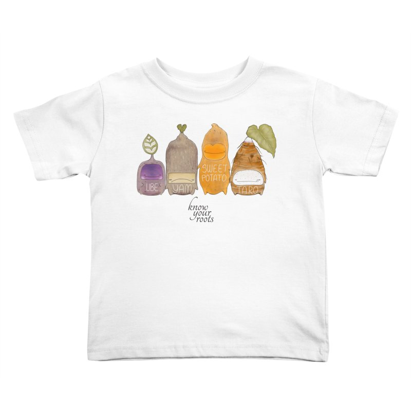 Know Your Roots Kids Toddler T-Shirt by The Lola x Kenneth Collaboration