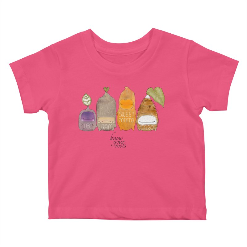 Know Your Roots Kids Baby T-Shirt by The Lola x Kenneth Collaboration