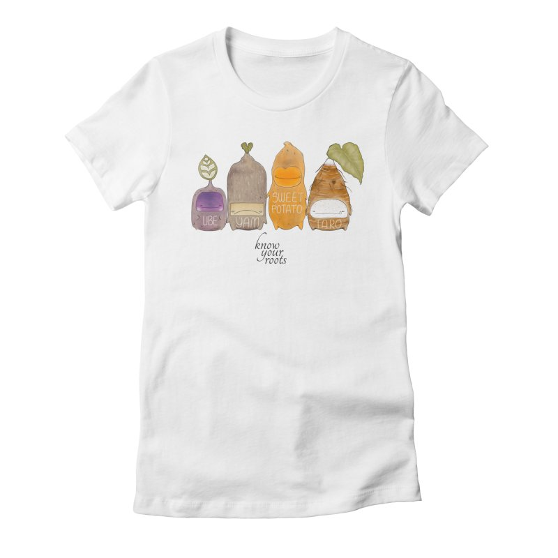 Know Your Roots Women's Fitted T-Shirt by The Lola x Kenneth Collaboration