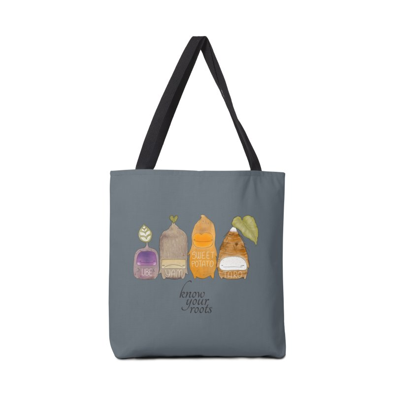 Know Your Roots Accessories Tote Bag Bag by The Lola x Kenneth Collaboration