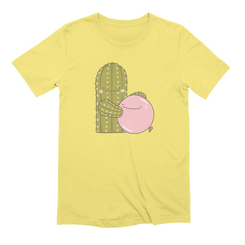 Snuggle Men's T-Shirt by The Lola x Kenneth Collaboration
