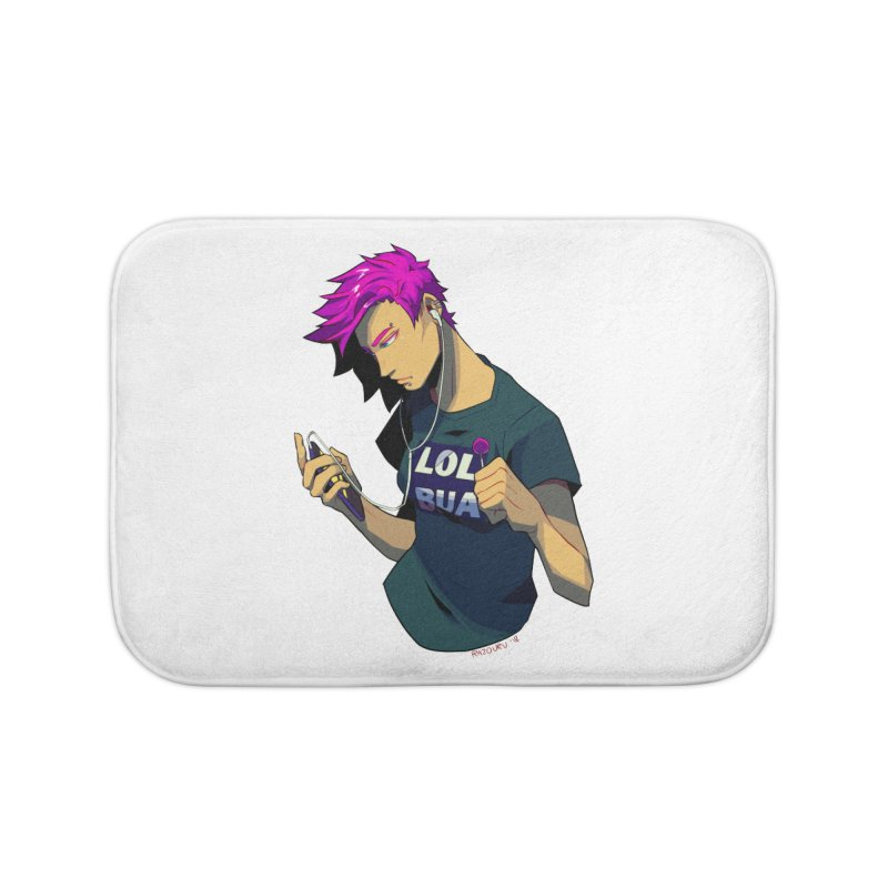 LOL Punk Home Bath Mat by LOLbua shop