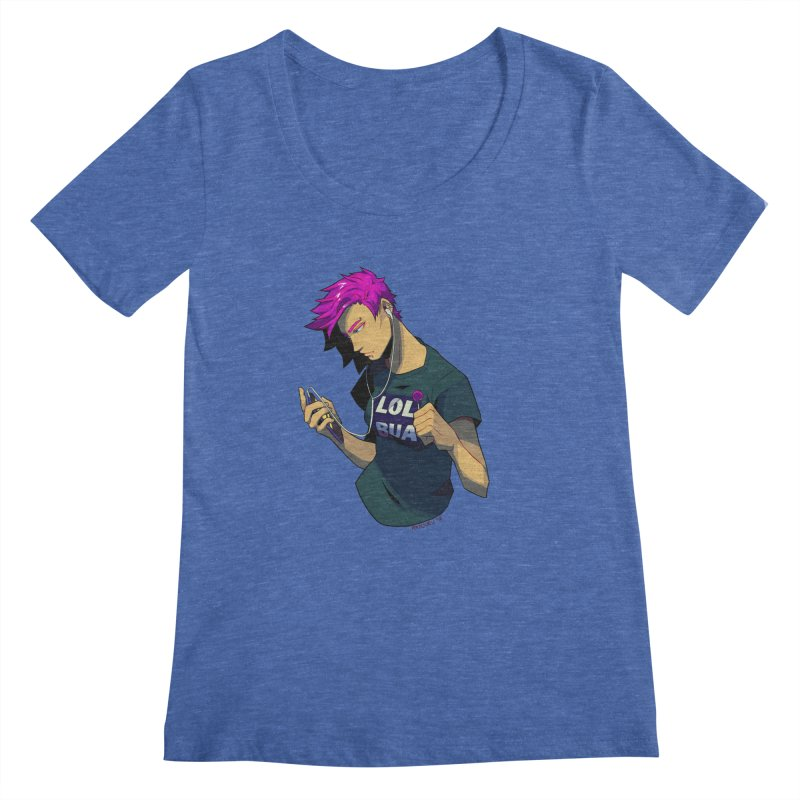LOL Punk Women's Regular Scoop Neck by LOLbua shop