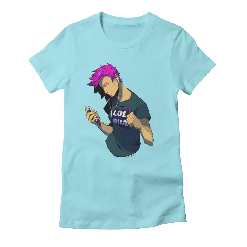 LOL Punk Women's Fitted T-Shirt by LOLbua shop
