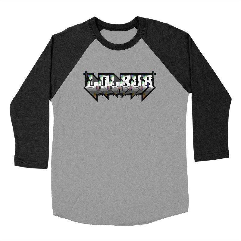 LOLBua PETSCII Men's Baseball Triblend Longsleeve T-Shirt by LOLbua shop