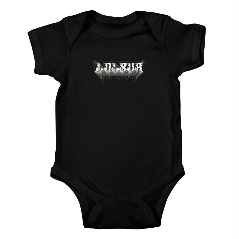 LOLBua PETSCII Kids Baby Bodysuit by LOLbua shop