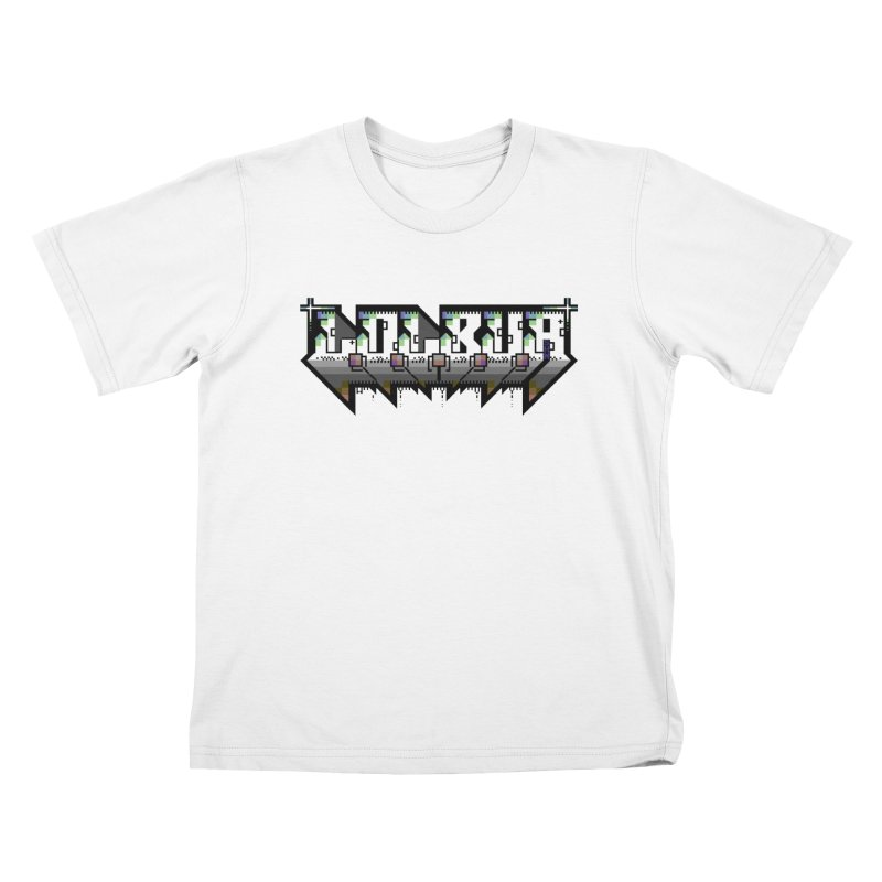 LOLBua PETSCII Kids T-Shirt by LOLbua shop
