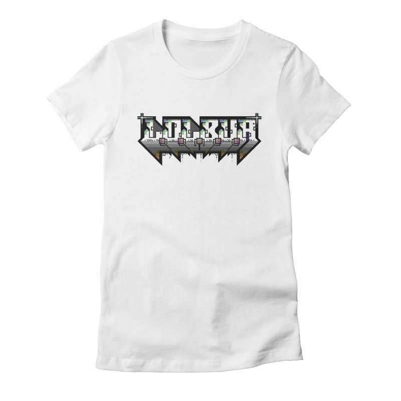 LOLBua PETSCII Women's Fitted T-Shirt by LOLbua shop