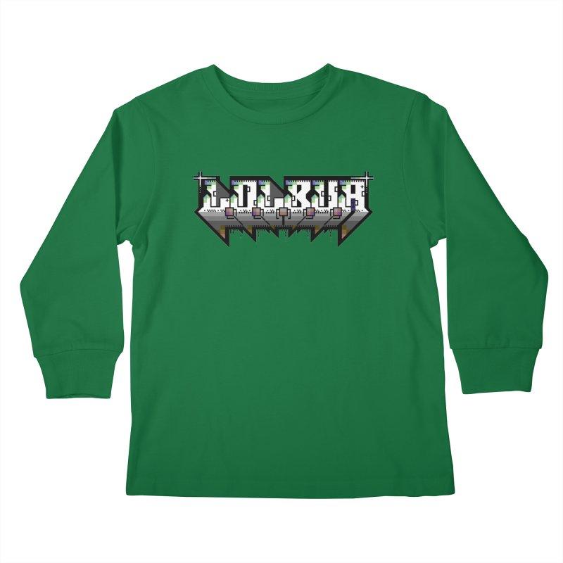 LOLBua PETSCII Kids Longsleeve T-Shirt by LOLbua shop
