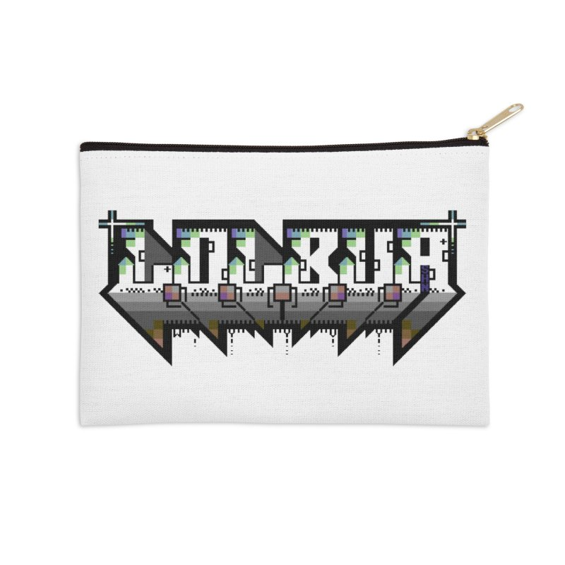 LOLBua PETSCII Accessories Zip Pouch by LOLbua shop
