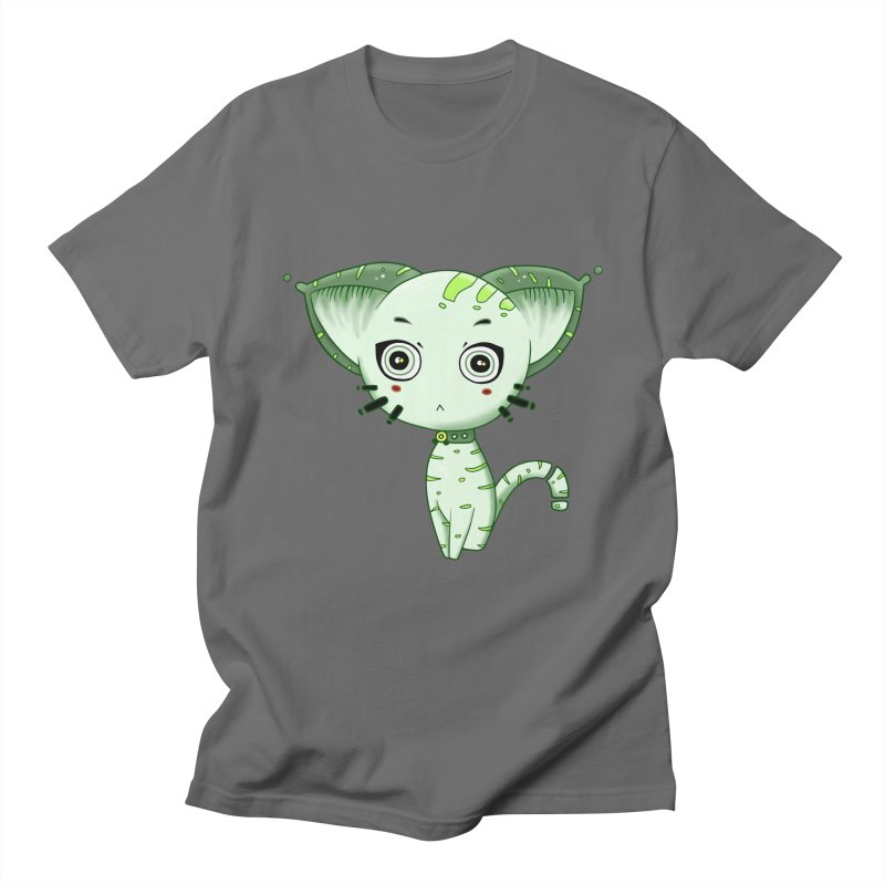 Ufo Cat by Lolita Tequila Men's T-Shirt by lolitatequila's Artist Shop