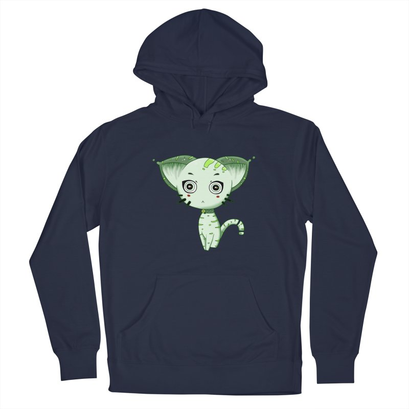 Ufo Cat by Lolita Tequila Men's Pullover Hoody by lolitatequila's Artist Shop