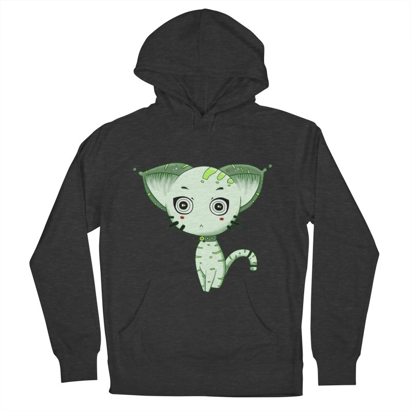 Ufo Cat by Lolita Tequila Women's Pullover Hoody by lolitatequila's Artist Shop