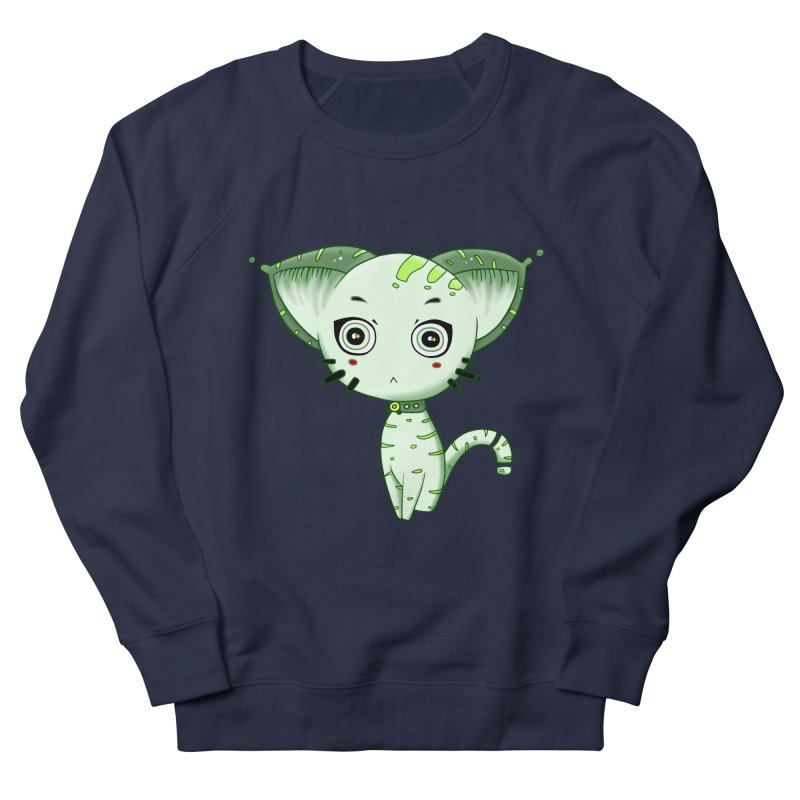 Ufo Cat by Lolita Tequila Men's Sweatshirt by lolitatequila's Artist Shop