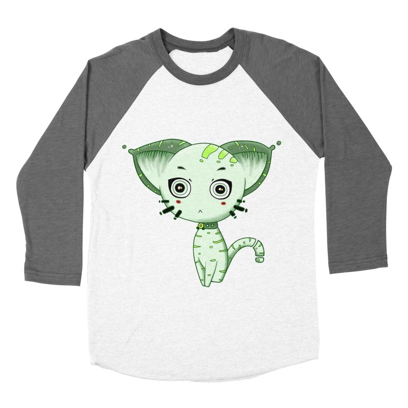 Ufo Cat by Lolita Tequila Women's Longsleeve T-Shirt by lolitatequila's Artist Shop