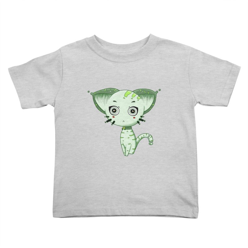 Ufo Cat by Lolita Tequila Kids Toddler T-Shirt by lolitatequila's Artist Shop
