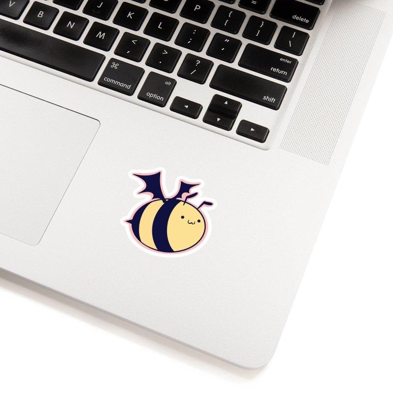 Bat Bee Sticker Accessories Sticker by lollibeepop