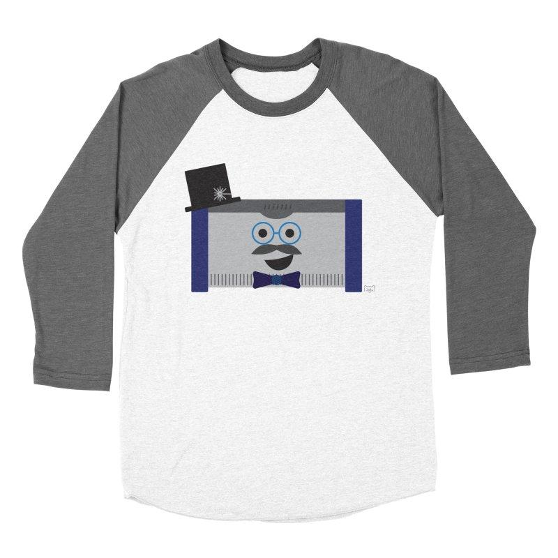 Laser McLaser Women's Baseball Triblend T-Shirt by lolo designs