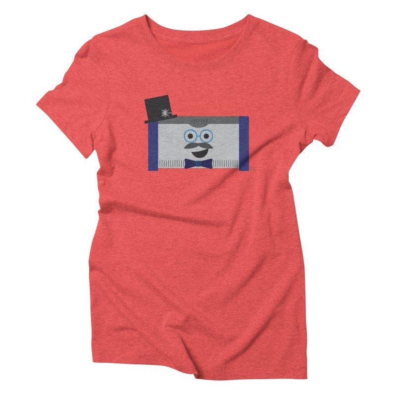 Laser McLaser Women's Triblend T-Shirt by lolo designs