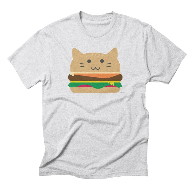 Cheesepurrger Men's T-Shirt by lolo designs