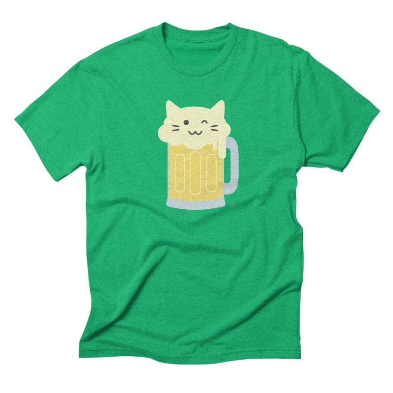 Feline a lil' tipsy Men's T-Shirt by lolo designs