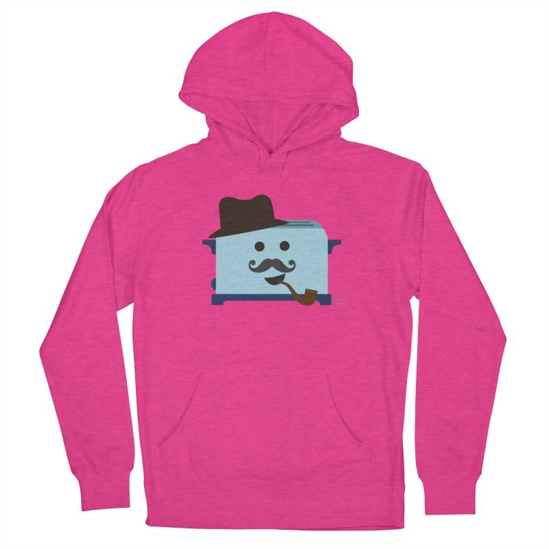 Toast D. Carbs, Esq.  Men's French Terry Pullover Hoody by lolo designs