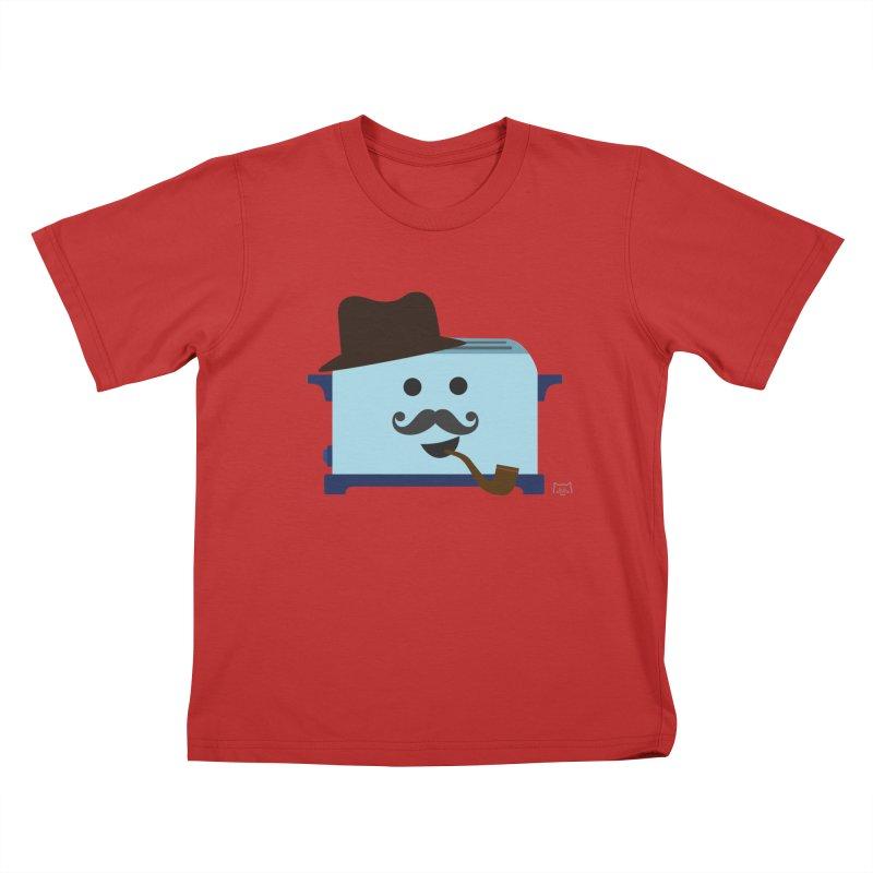 Toast D. Carbs, Esq.  Kids T-Shirt by lolo designs