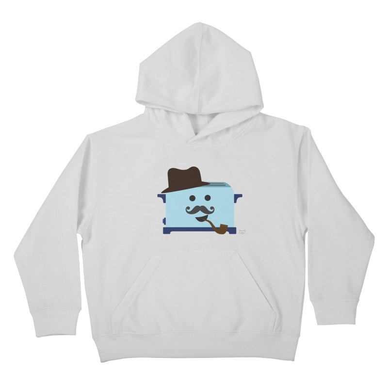 Toast D. Carbs, Esq.  Kids Pullover Hoody by lolo designs