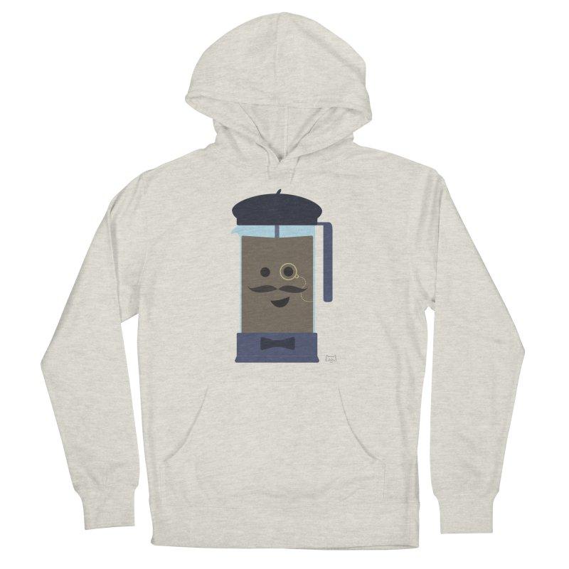 Monsieur Cafetière Men's Pullover Hoody by lolo designs