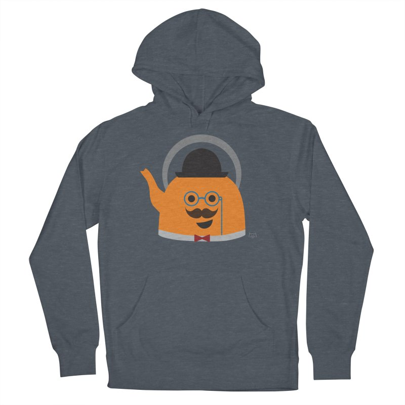 Sir Steep-a-lot Men's French Terry Pullover Hoody by lolo designs