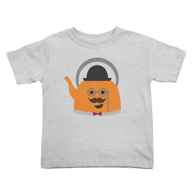 Sir Steep-a-lot Kids Toddler T-Shirt by lolo designs