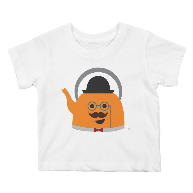 Sir Steep-a-lot Kids Baby T-Shirt by lolo designs