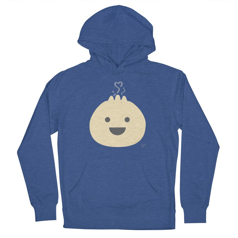 Dumpling to think about Women's French Terry Pullover Hoody by lolo designs