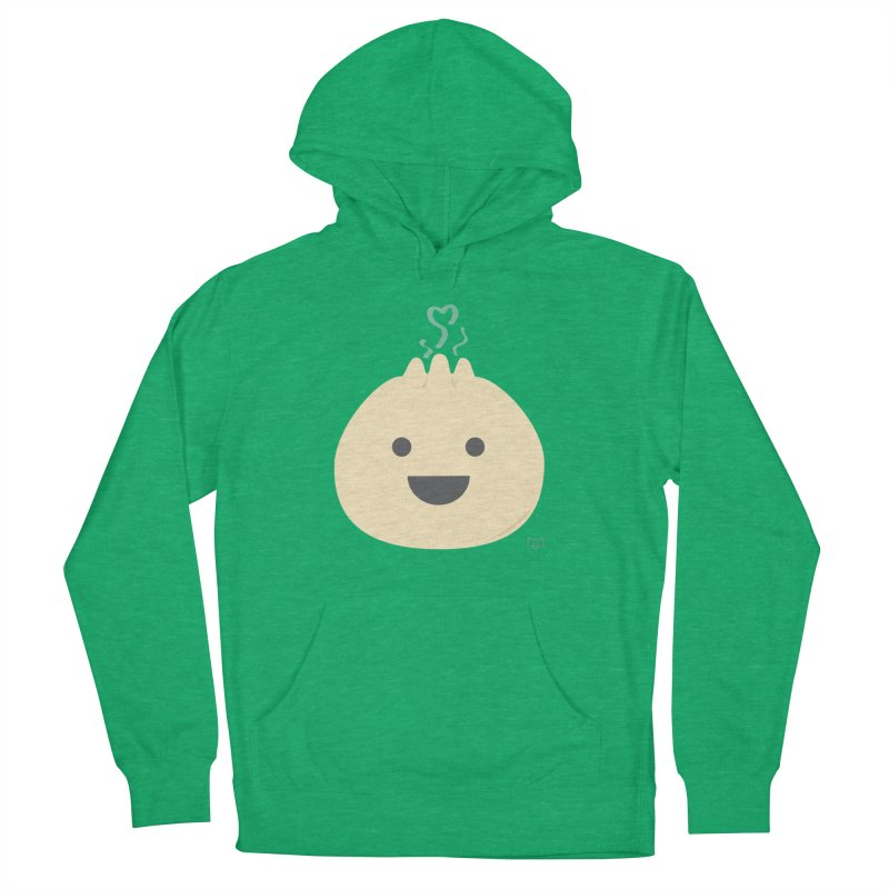 Dumpling to think about Men's French Terry Pullover Hoody by lolo designs