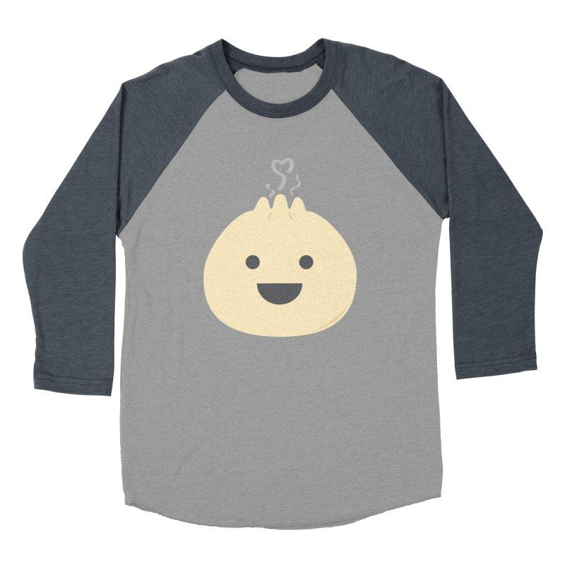 Dumpling to think about Women's Baseball Triblend Longsleeve T-Shirt by lolo designs