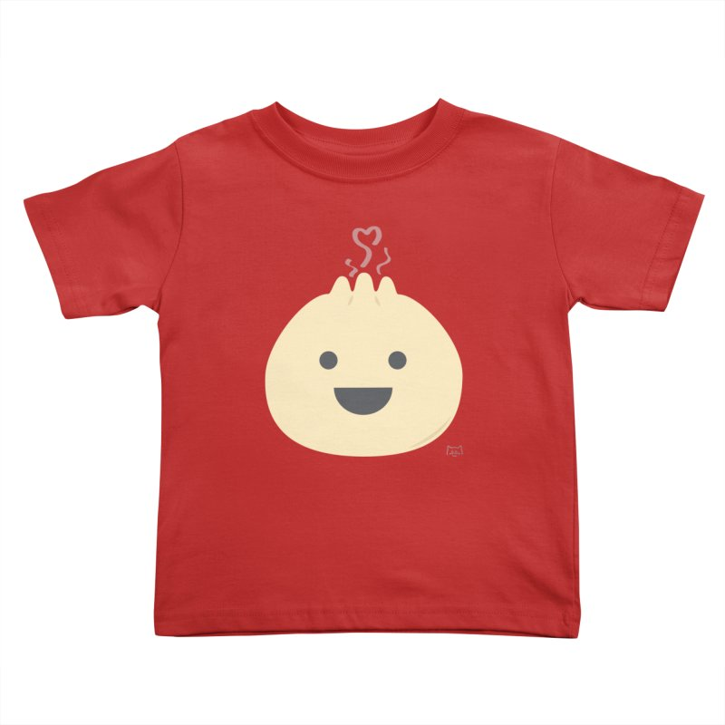 Dumpling to think about Kids Toddler T-Shirt by lolo designs