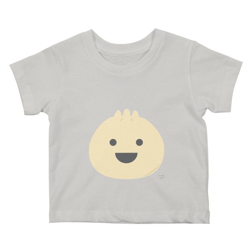 Dumpling to think about Kids Baby T-Shirt by lolo designs