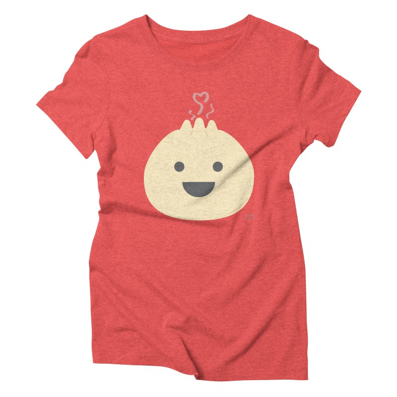 Dumpling to think about Women's Triblend T-Shirt by lolo designs