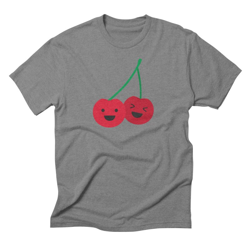 Cherry cute Men's Triblend T-Shirt by lolo designs