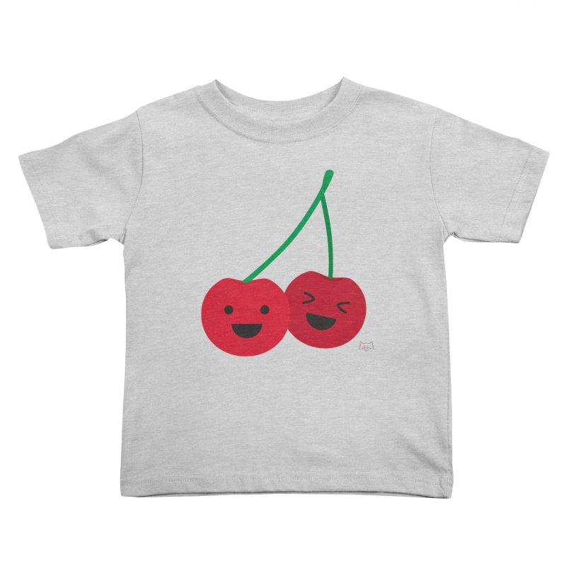 Cherry cute Kids Toddler T-Shirt by lolo designs