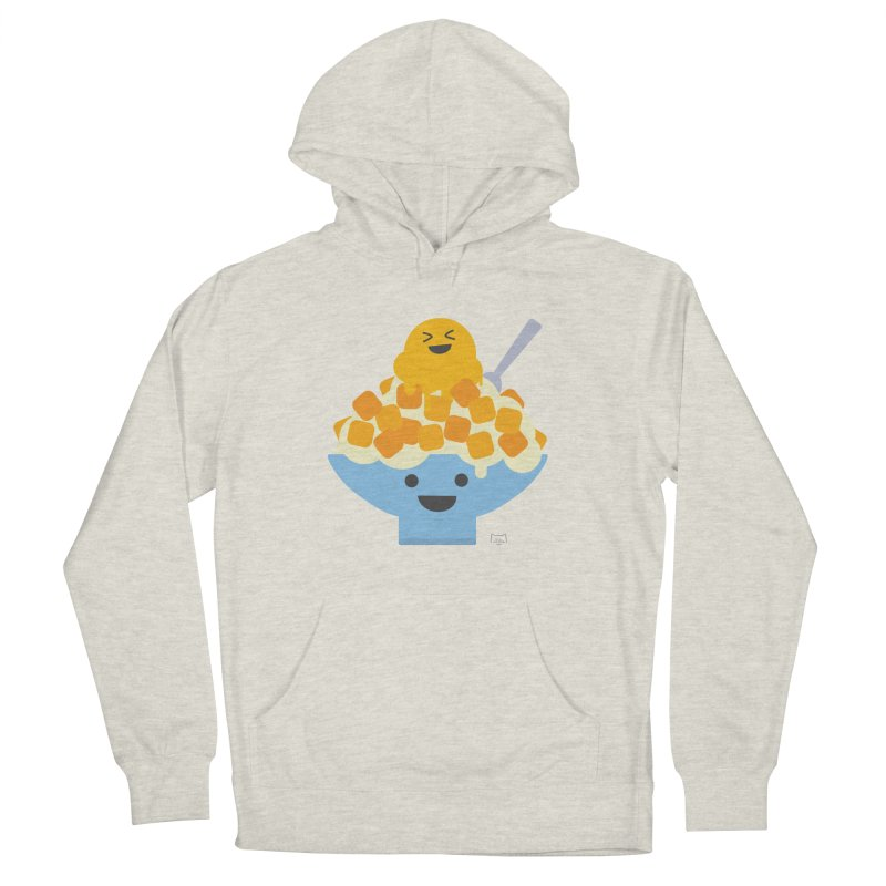 Ice Ice Mango Women's French Terry Pullover Hoody by lolo designs