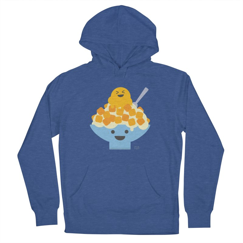 Ice Ice Mango Men's French Terry Pullover Hoody by lolo designs