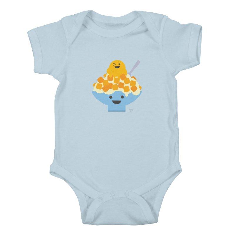 Ice Ice Mango Kids Baby Bodysuit by lolo designs