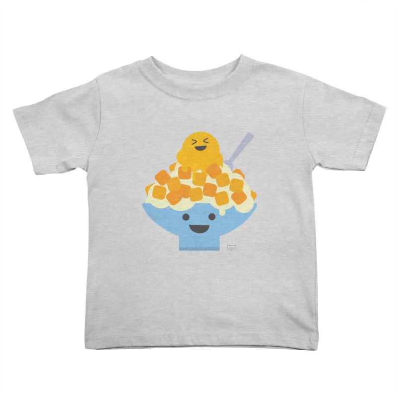 Ice Ice Mango Kids Toddler T-Shirt by lolo designs
