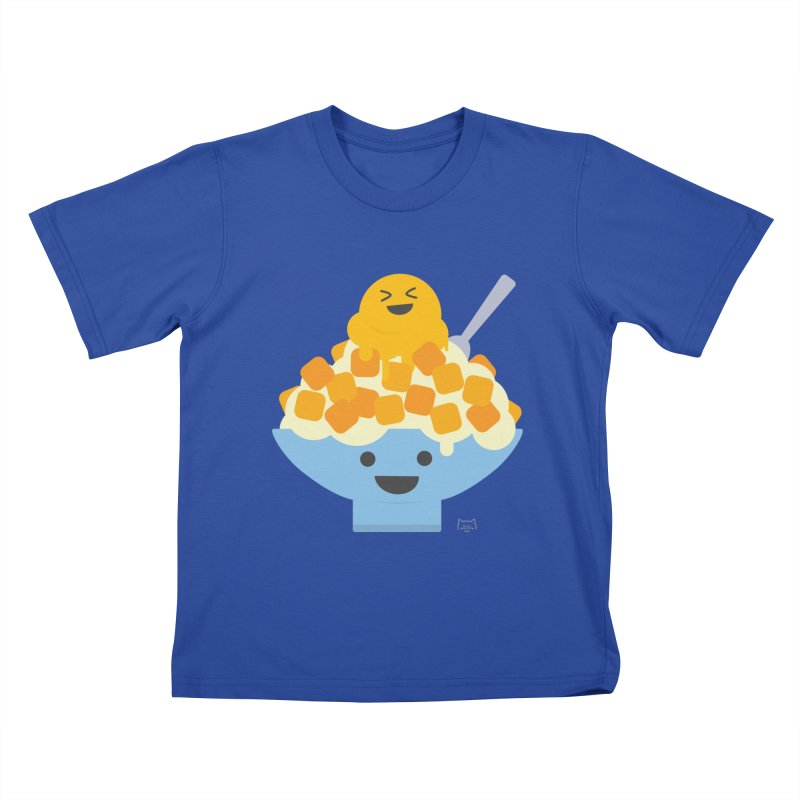Ice Ice Mango Kids T-Shirt by lolo designs