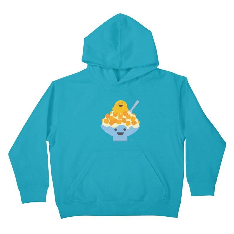 Ice Ice Mango Kids Pullover Hoody by lolo designs