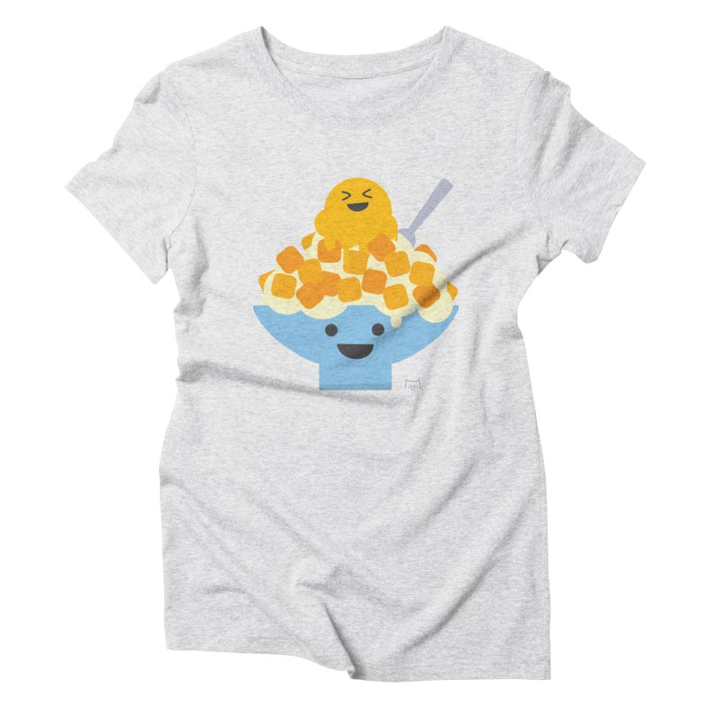 Ice Ice Mango Women's Triblend T-Shirt by lolo designs